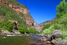 Colorado River Flows Through T...