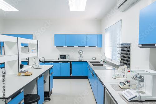 Fotografie, Obraz  Science modern lab interior architecture.