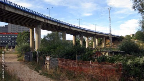 Puente de la autovía.