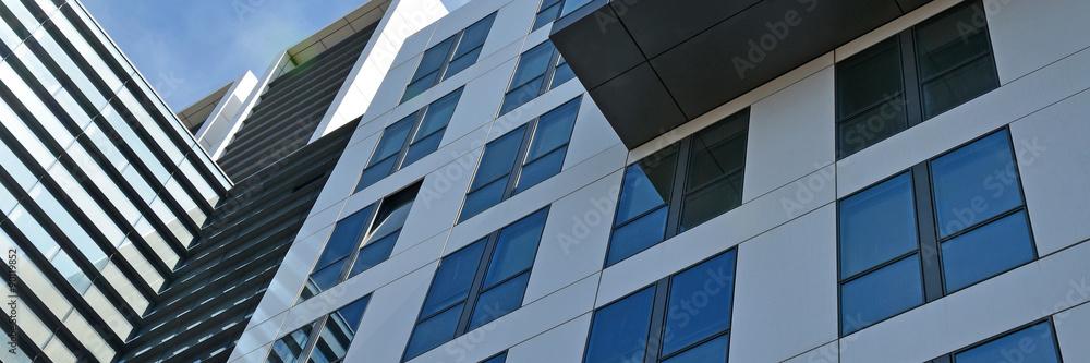 Fototapeta bürogebäude, glasfassade