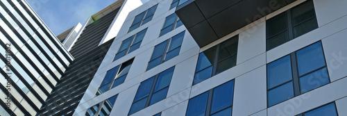 bürogebäude, glasfassade