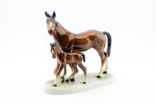 Porcelain Horse Figures