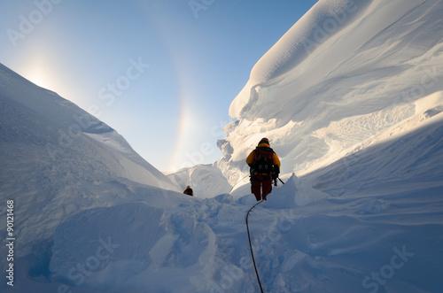 Photo Stands Antarctic Adventures in Antarctica