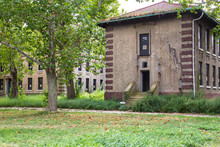Ellis Island Immigrant Hospital Abandoned Building, New York City