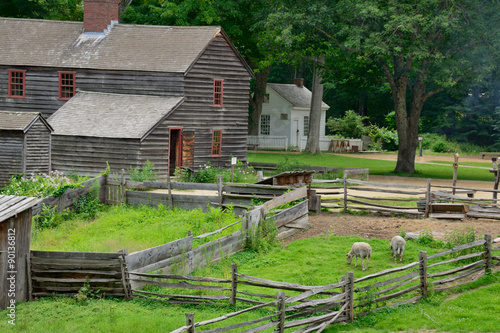 Historical Farmlands Poster