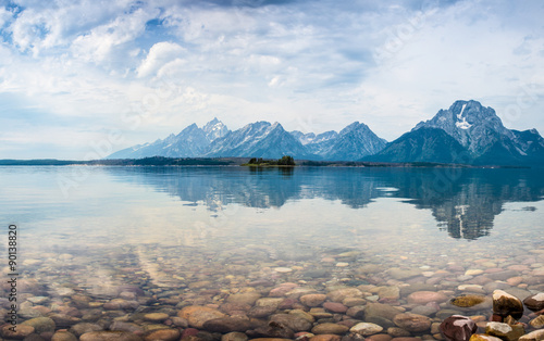 Deurstickers Bergen Grand Teton National Park