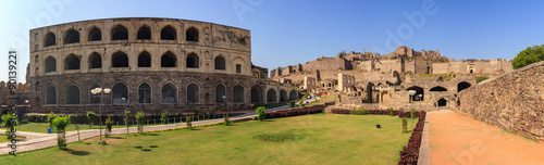 Ruin city at Hyderabad city - India Wallpaper Mural