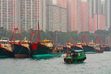 Floating Village, Aberdeen, Hongkong