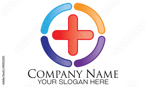 Simple Medical Logo Vector