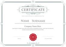 Certificate Border Vector Eleg...