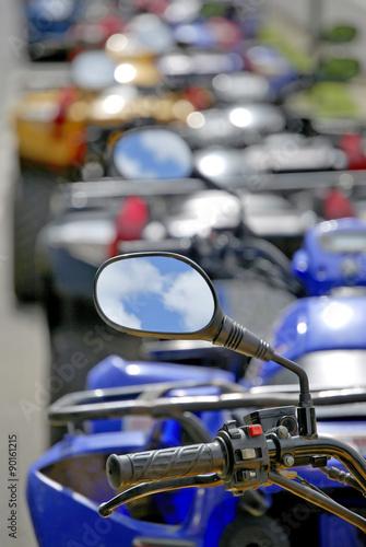 Quad rearview mirror
