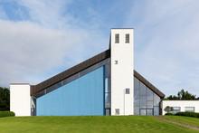 Modern Skjoldhoj Church In Aar...