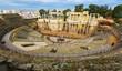 Antique Roman Theatre in Merida, Spain