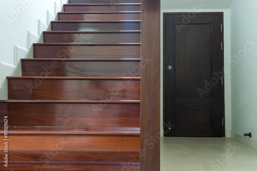 Photo Stands Stairs stairway wood