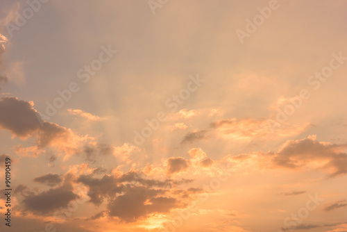 sky sunset background