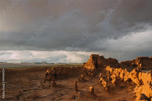 Fotografie, Obraz  Dramatic Scene in Goblin Valley