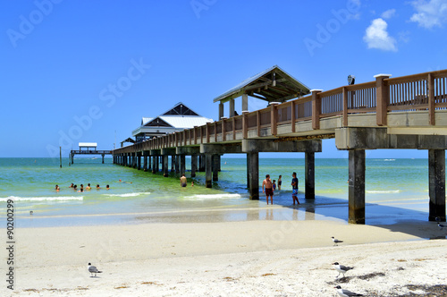 plakat Pier 60 Clearwater Beach Florida