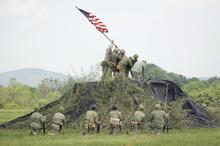 A World War II Reenactment Of ...