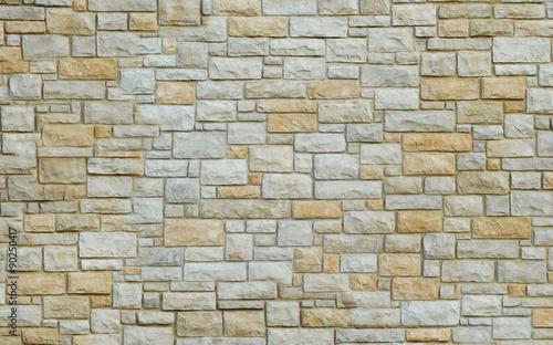 Foto op Aluminium Stenen wand aus steine