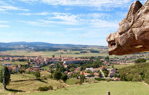 Fotografie, Obraz  Pilgerort Saugues, Auvergne