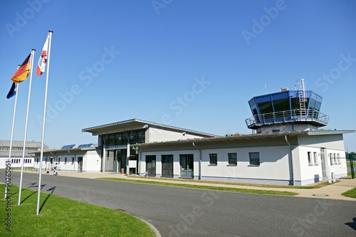 Fotografie, Obraz  Flughafen Barth