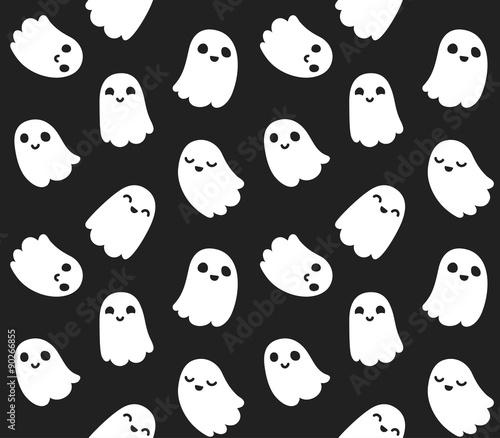 Materiał do szycia Cute ghost pattern