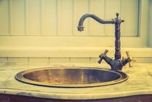 Vintage Faucet Sink