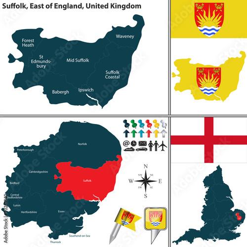 Stampa su Tela Suffolk, East of England, UK