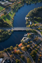 AERIAL VIEW Of Charles River T...