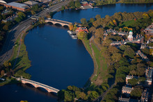 AERIAL VIEW Of Charles River W...