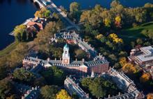 AERIAL VIEW Of Harvard Campus ...