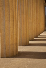 Columns Of The Parthenon, Nashville, Tennessee, Centennial Park, Full Scale Replica Of Greek Parthenon..