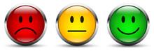 Smiley Icon Set - Bewertung