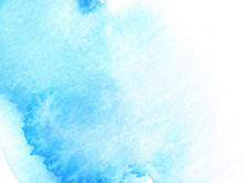 Blue Abstract Watercolor Background Design