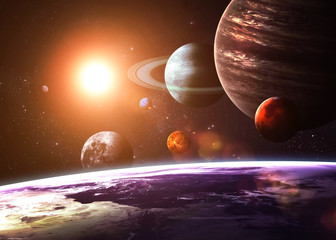 Solar system and space obje...