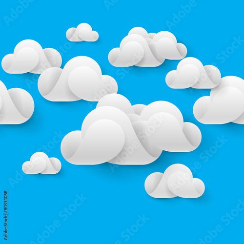 Foto op Plexiglas Hemel Abstract cloudscape