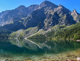 Morskie Oko - lake in Tatra Mountains