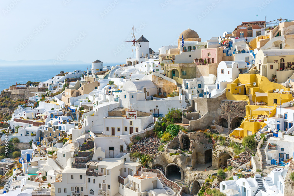 Fototapeta Oia town Santorini island Greece