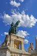 Estatua del Rey San Esteban en Budapest