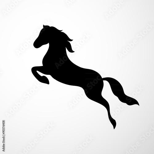 Obrazy na płótnie Canvas Horse logo
