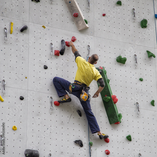 Foto op Plexiglas Alpinisme Arrampicata
