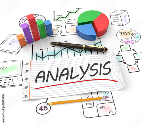 Financial Analysis Buy This Stock Illustration And Explore Similar