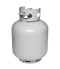 Propane Gas Cylinder, Isolated...
