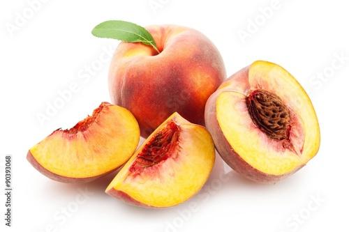 Foto op Aluminium Vruchten Peach