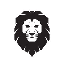 Lion Head - Vector Sign Concep...