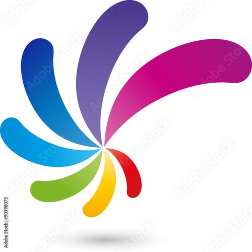 Spirale Logo, Multimedia, farbig