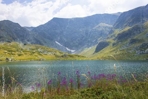 Recess Fitting Khaki Beautiful mountain - seven Rila lakes, Bulgaria