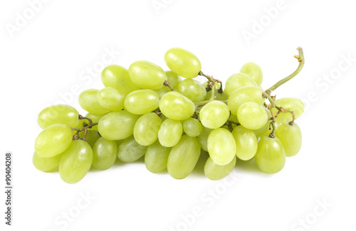 Foto  white grapes
