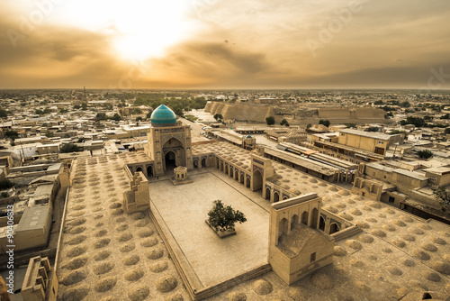 Photo  Panorama of Bukhara, Uzbekistan