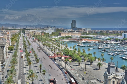 Photo  Barcelona marina